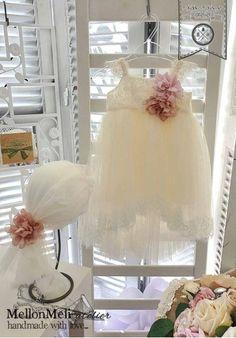 """Βαπτιστικό Φόρεμα """"Diane"""" Girls Dresses, Flower Girl Dresses, Wedding Dresses, Handmade, Fashion, Dresses Of Girls, Bride Dresses, Moda, Bridal Gowns"""