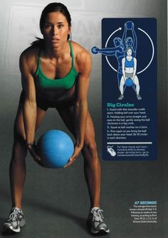 Medicine ball..love this workout!