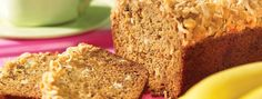 Banana Crunch Bread- With yummy white chocolate chips and a coconut crunch, your kids will love this exciting twist on classic banana bread.