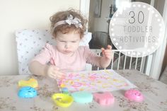 Oh So Amelia | UK Parenting Lifestyle Blog: 30+ Activities & Crafts For Toddlers