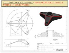 Surface Modeling, 3d Modeling, Solidworks Tutorial, Cad Drawing, Video Link, Autocad, Excercise, Step By Step Instructions, Bed