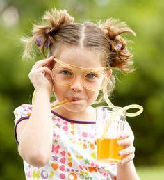 Straw Glasses, set of 2
