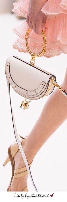 """Chloé Bracelet Bag - """"This is a piece that brilliantly connects the idea of jewelry and handbag in one 