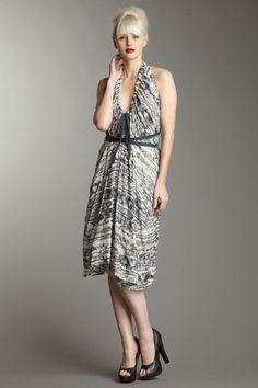L.A.M.B. Halter Dress