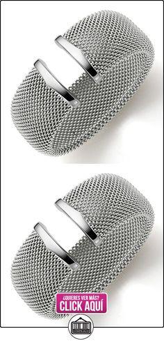 29 mm de frambuesa brazalete pulsera de cuero de{585} oro blanco  ✿ Joyas para hombres especiales - lujo ✿ ▬► Ver oferta: https://comprar.io/goto/B013ARZ8F6