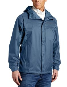 Columbia Men's Watertight Jacket - nice compactable waterproof jacket that won't break the bank.  I have a size small that fits more like a medium which allows me to wear layers underneath when it's cold.