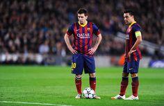 """Xavi: """"Se Messi seria tão espetacular na Premier League? Seria ainda melhor, porque teria mais espaços"""""""