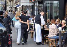 Waiter Uniform, Walking, Street View, Suits, Fashion, Moda, Fashion Styles, Walks, Suit