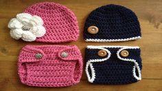 Cubre Pañal Para Bebe Tejdos a Crochet