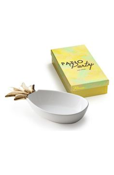 Rosanna Pineapple Porcelain Serving Tray available at #Nordstrom