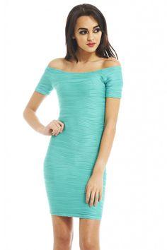 Ripple Effect Bodycon Dress