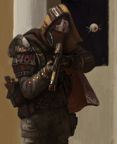 Destiny fan art, Max Devyataev on ArtStation at https://www.artstation.com/artwork/X2yln