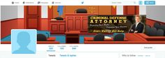 Criminal Attorney Twitter Cover Design... http://premadevideos.com/twitter-cover-graphics/