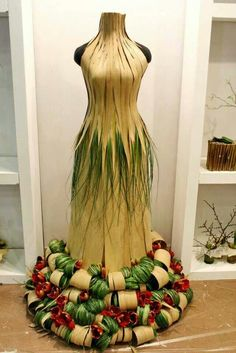 find new and used dress forms for projects like this at MannequinMadness.com