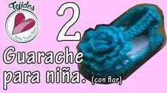 Huarache con flor para niña TUTORIAL Pt. 2/2