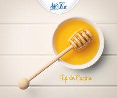 #TipCocina: Para que la masa de tus pasteles que se cocinan al horno sea más ligera y saludable, sustituye con #miel un 20% del peso de azúcar que pide la receta.