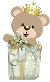 Baby Painting, Baby Shawer, Cute Bears, Teddy Bear, Clip Art, Display, Dolls, Floral, Flowers