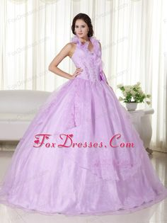 Lavender Quinceanera Dress