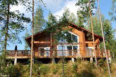 Finnische Blockhütten rund um den Saimaa-See - http://www.nordicmarketing.de/ferienhaeuser-in-der-region-saimaa/