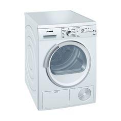 Buy Siemens WT46E381GB Condenser Tumble Dryer, 7kg Load, B Energy Rating, White online at John Lewis