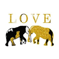 Elephant Love Illustration Printl ON VACATION