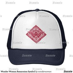 Wonder Woman Amazonian Symbol Trucker Hat db70a650ae2