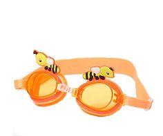 1fcf437ced6 Amazon.com   Drasawee Unisex Cute Kids Anti-fog Swimming Goggles UV Shield Swim  Glasses Blue1    Sports   Outdoors
