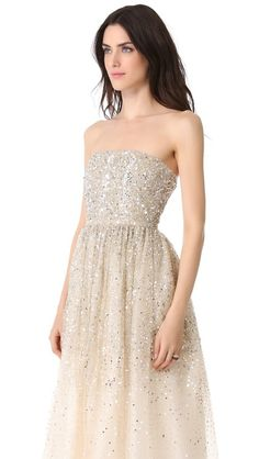 sparkle gown.