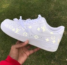 Luftwaffe 1 Louis Vuitton White Womens Sneakers Sneakers White Shoes Run . Louis Vuitton Sneakers, Nike Shoes Air Force, Nike Air Max, Nike Air Force 1 Outfit, Jordan Nike, Zapatillas Nike Air, Nike Af1, Aesthetic Shoes, Hype Shoes