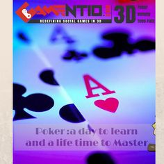 Playing #Gamentio #Poker does not call for any knowledge of complex computer skills. All you need is a computer and an internet connection, and you are good to go!