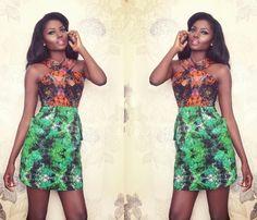 Flora-Fauna-Collection-African-print-fashion-designer-ghana-ciaafrique  - robe en pagne africain