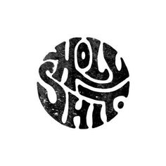 """Holy Shit by Foto von auf Ins … - Handlettering und Typografie Lettering Styles, Types Of Lettering, Photographie Street Art, Letras Cool, Typographie Fonts, Inspiration Typographie, Typography Letters, Typography T Shirt, Type Design"