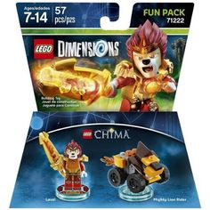 Lego Dimensions Chima Laval Character (Universal)