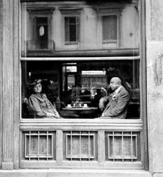 Athens cafeteria en omonia square 1957 - by Piergiorgio Branzi