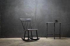1910s, Early Shaker Beadmeyer Rocking Chair via Factory20