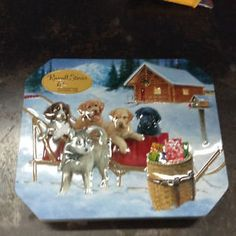 Russell Stover, Antique Tea Sets, Tin Art, Old Toys, Pop Culture, Vintage Items, Channel, Childhood, Chocolate