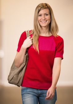 Strikket feminin T-shirt Sweater Cardigan, V Neck, Stitch, Sweaters, Cardigans, Knitting, Tees, Crochet, Pattern