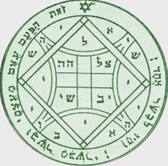 Seal of Solomon Vinyl Sticker Decal 32.Fourth Pentacle of Venus