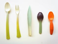 Petals & Plants-Inspired Cutlery – Fubiz Media