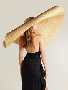 New Summer Oversize Beach Hats For Women Brim Large Straw Hat Wide Brim Sun Hat, Head Scarf Styles, Jacquemus, Floppy Hats, Straw Hats, Dubai Fashion, Fashion Hats, Fashion Dresses, Fashion Edgy