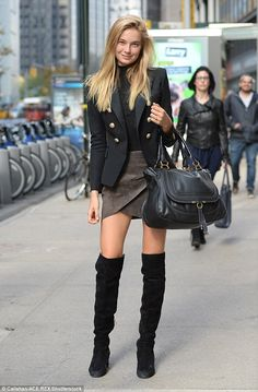 Work the military trend in a structured blazer by Balmain. Click 'Visit' to buy now. #DailyMail