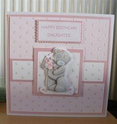 birthday Girl Birthday Cards, Birthday Cards For Women, Handmade Birthday Cards, Birthday Greetings, Greeting Cards Handmade, Baby Cards, Kids Cards, Forever Friends Cards, Spellbinders Cards