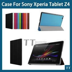 """11.59$  Watch here - http://alix3n.shopchina.info/go.php?t=32368086658 - """"For sony Xperia tablet z4 case Smart PU leather Case cover For Sony Xperia tablet Z4 10.1""""""""tablet+free 3 Gifts+screen protecter"""" 11.59$ #magazine"""