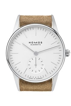NOMOS Glashutte Orion 33 weiss   this is one gorgeous timepiece