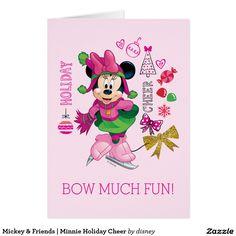 Disney Mickey et Minnie Mouse Valentine/'s Carte-Personnalisé