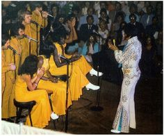 Elvis with the Sweet Inspirations, Kathy Westmoreland, and the Stamps Quartet! by Feral Indeed!, via Flickr
