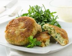 Erdäpfel-Zucchini-Laibchen Rezept