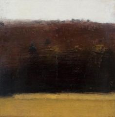 Michael Workman - autumn hillside with rain