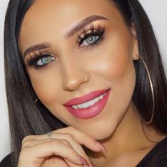 """The incredibly stunning @makeupby_elliee is rocking her @lashylicious lashes in style """"Lustylicious""""!  Tap the photo or click the link in our bio to shop now! Add 4 pairs to your cart and get 1 of them for free with code """"freepair""""!   Tag us @lashylicious and use #lashylicious for a chance to get featured.  #farahpromakeup #minkfalsies #lashed #lashenvy @farahpromakeup"""
