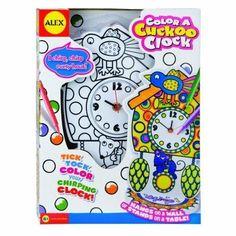 Alex Toys Color a Cuckoo Clock